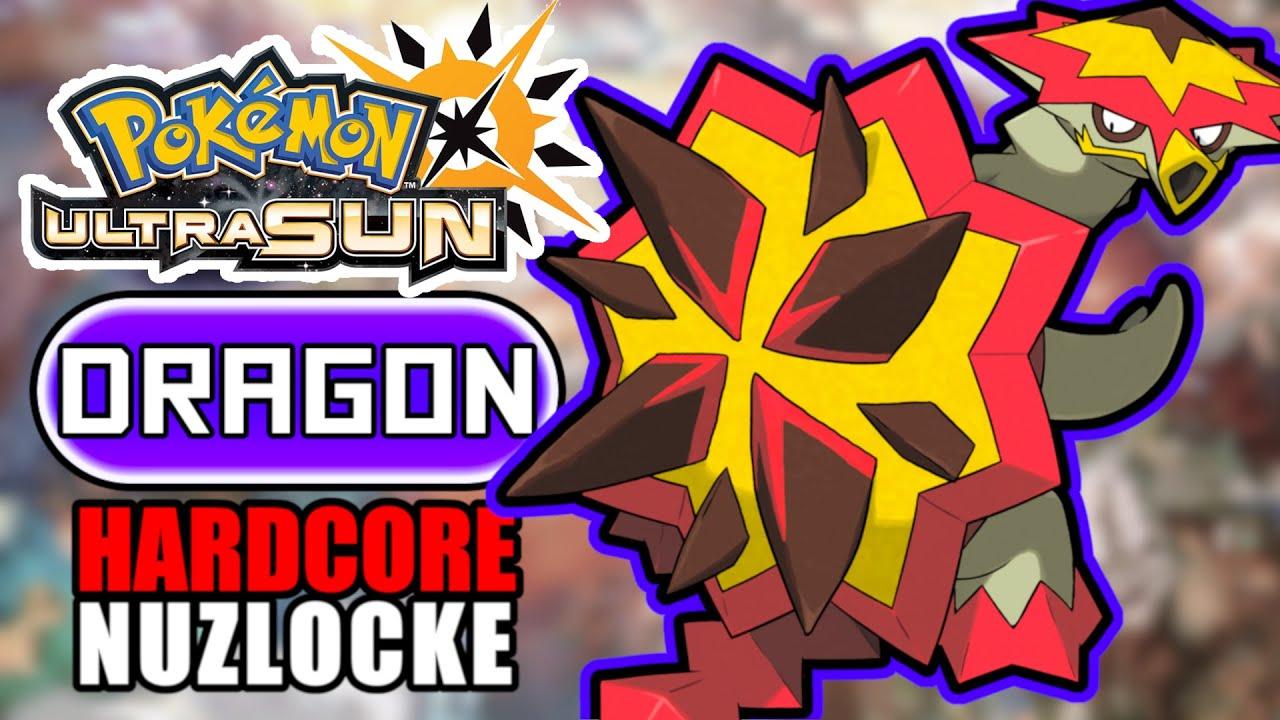 Pokémon Ultra Sun Hardcore Nuzlocke - DRAGON Types Only! (No items, No overleveling)
