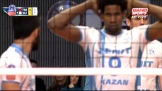 Friedrichshafen (ALE) X Zenit Kazan (RUS) - Liga dos Campeões de Vôlei Masculino 2014/15