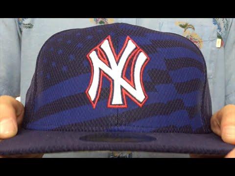 0a0dd1575c78e Yankees  2015 JULY 4TH STARS N STRIPES  Hat by New Era - YouTube