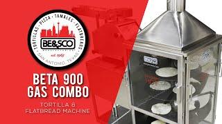 besco beta 900 high performance flour tortilla machine