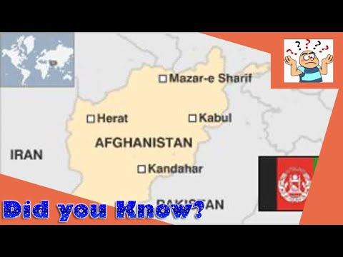 Afghanistan country profile