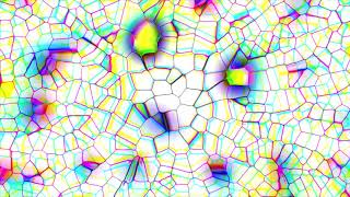 4K Live Wallpaper - White Colorful Crystal #AAvfx Mobile & Desktop Moving Background