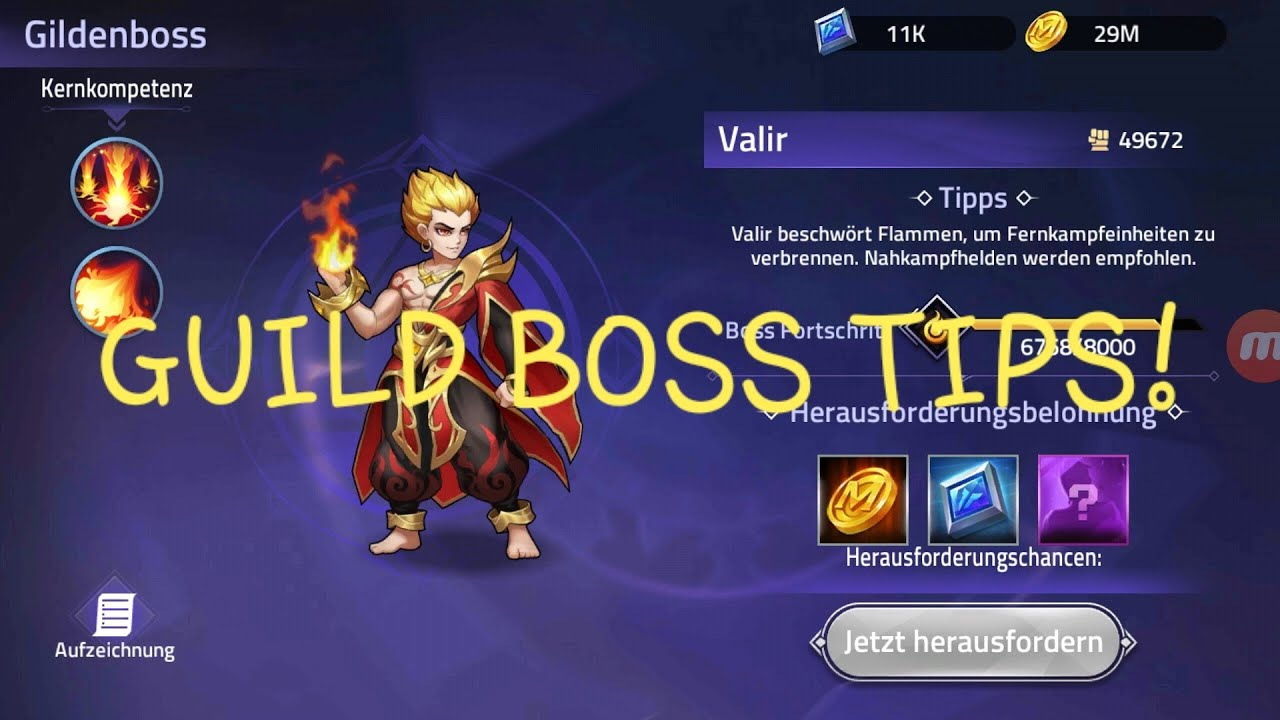 Valir Is INSANE How To Beat Guild Boss Quick