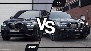 Вывозит? BMW X5 G05, бензин против дизеля (50i vs m50d). Сравниваем, изучаем возможности и тюним!