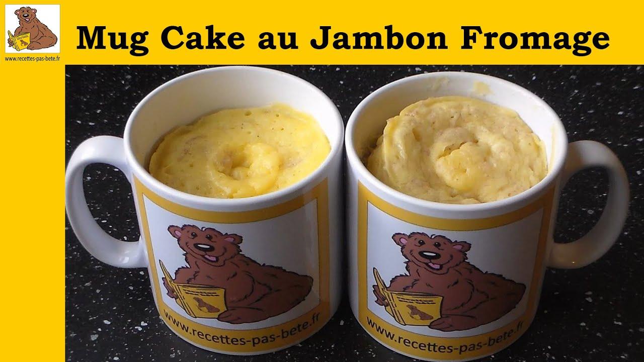 Recette Mug Cake Fromage