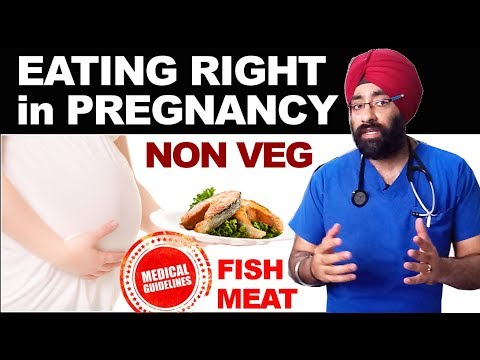 Rx Pregnancy#3 (Hindi) NON VEG DIET GUIDELINES | Eating Fish, Meat & Seafoods | Dr.Education