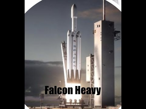 Historic Rocket Launch Falcon 🚀 Heavy *Live* - Space X