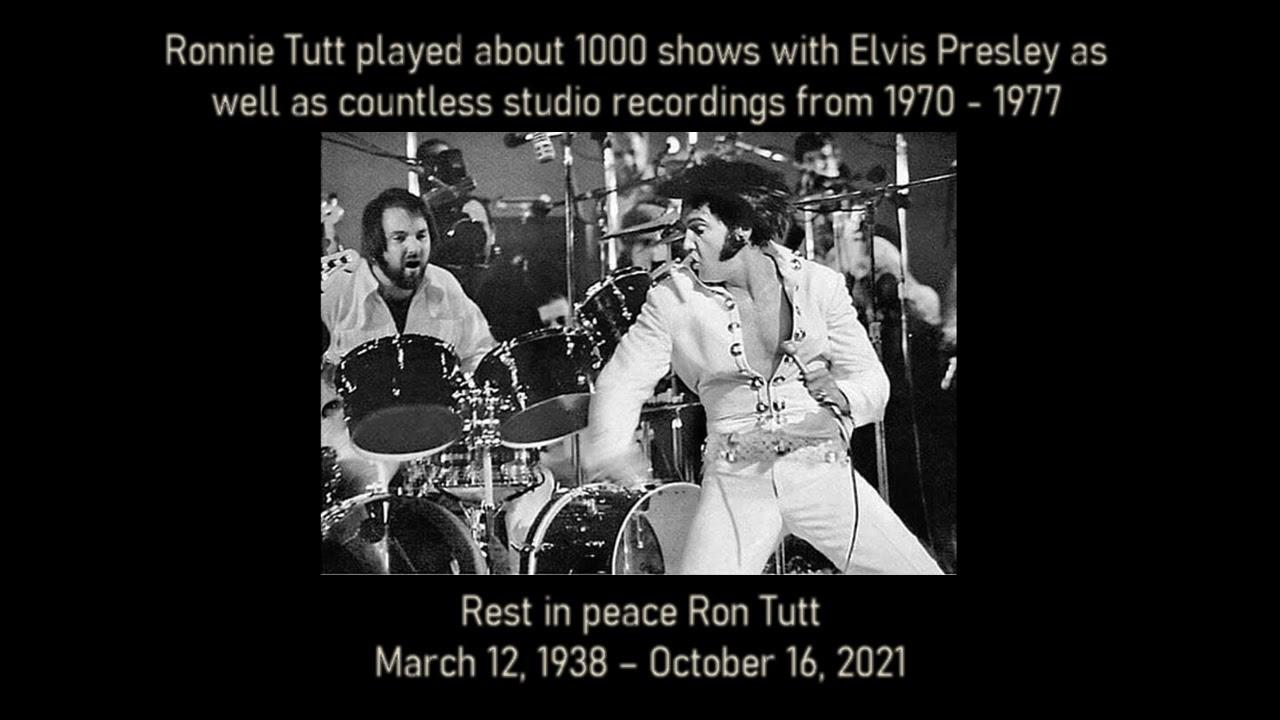 Ron Tutt, Drummer for Elvis Presley, Jerry Garcia, and Billy Joel, Is ...