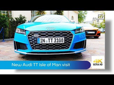 Audi TT Isle of Man visit