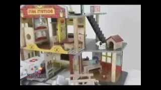 Kidkraft Fire Station Deluxe Fire Rescue And Kidkraft Dollhouse All Still Offer Best Buy