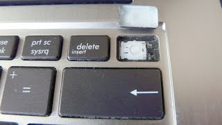 🚩 Ремонт клавиши кнопки клавиатуры ноутбука