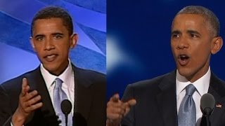 Two speeches: 12 years apart but similar in tone
