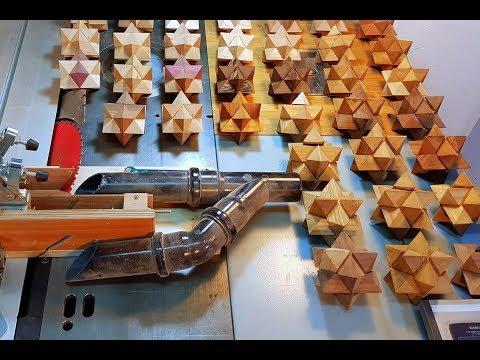 The Ultimate Jig for making A Wood star Puzzle (Escher Solid)