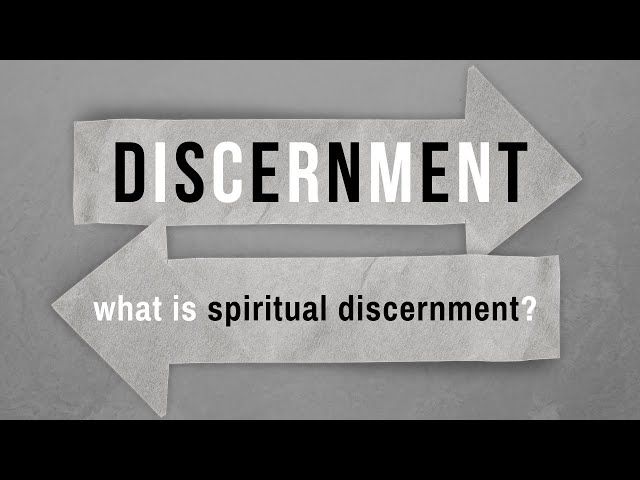 What Is Spiritual Discernment? - Selected Scriptures (Pastor Robb Brunansky)