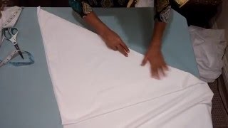 Churidar Pajami Cutting and Stitching
