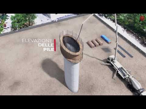 Nuovo Ponte di Genova: il video in 3D della simulazione dei lavori