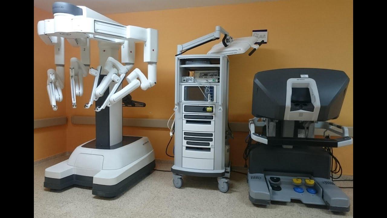 Da Vinci Xi >> davinci xi robot surgeon - YouTube