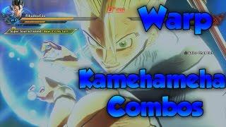 Warp Kamehameha Combos! Instant Kamehameha! - Dragon Ball Xenoverse 2