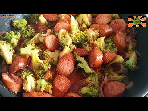 Smoked Sausage And Broccoli Skillet Recipe