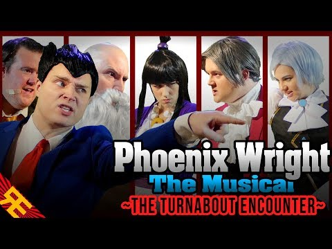 Phoenix Wright the Musical SUPERCUT (