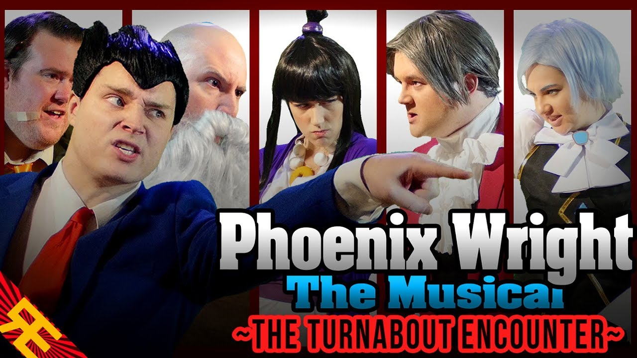 """Download Phoenix Wright the Musical SUPERCUT (""""The Turnabout Encounter"""")"""