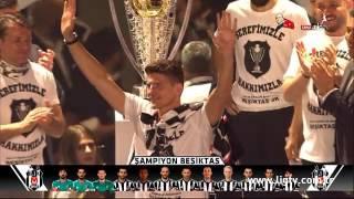 Beşiktaş 2015-2016 Sezonu Vodafone Arenada Şampiyonluk Kutlama Töreni