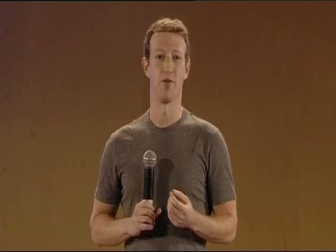 Facebook founder MARK  ZUKERBERG with Delhi IIT student Seg2