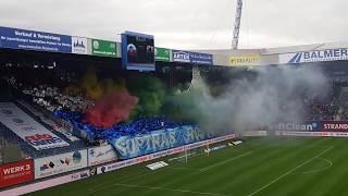 Choreo & Pyro FC Hansa Rostock vs TSV 1860 München