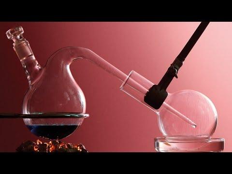 Дистилляция - получаем запах яблок.