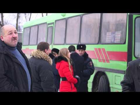 Проверка автобусов в Белгороде