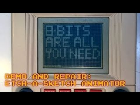 Etch - a - Sketch Animator