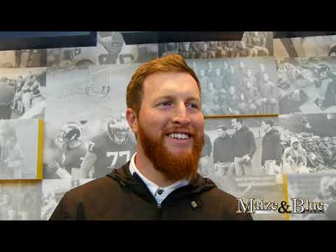 Jay Harbaugh discusses RB group in fall camp