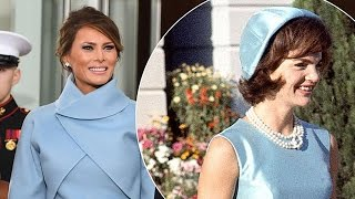 Melania Trump Copies Another First Lady, Uses Jackie Kennedy as Inspiration for Inauguration Dress