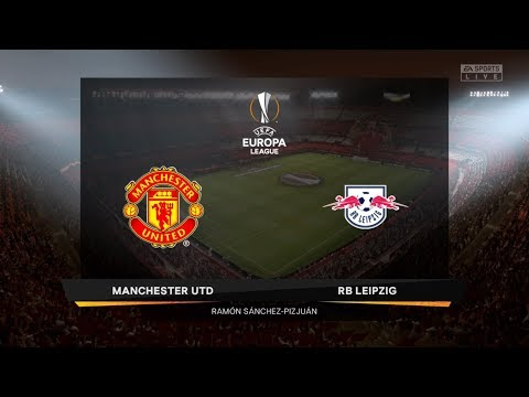 FIFA 20 Career Season 1 UEFA Europa League Final Manchester United vs. RB Leipzig