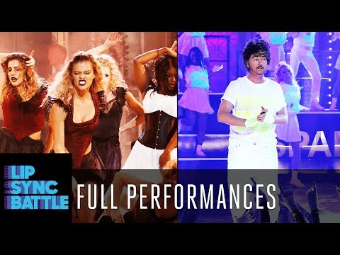 "Thumbnail: David Spade's ""Wake Me Up Before You Go-Go"" vs. Nina Agdal's ""Lose Control"" 