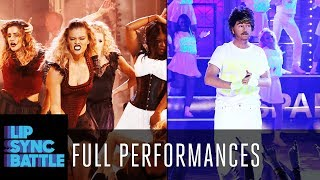 "David Spade's ""Wake Me Up Before You Go-Go"" vs. Nina Agdal's ""Lose Control"" 