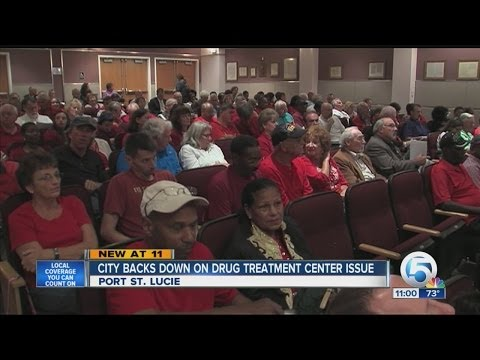 City backs down on drug treatment center issue