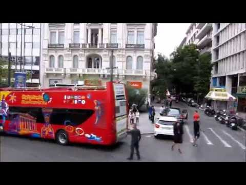 Athens Hop-On Hop-Off Tour - Blue line Greece