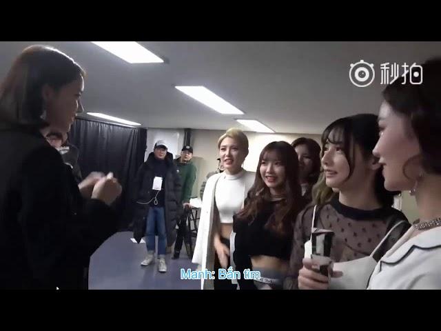 [VietSub] Yoona vào hậu trường chúc mừng các thành viên 7SENSES SNH48 sau Asia Artist Awards 2017
