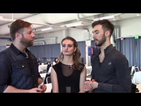2017 Golden Skate Interview with Gabriella Papadakis & Guillaume Cizeron