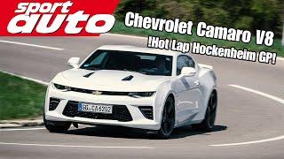 Chevrolet Camaro V8 | Hot Lap Hockenheim GP | sport auto