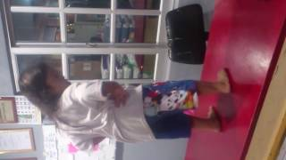 Oku child dance,so cute and funny