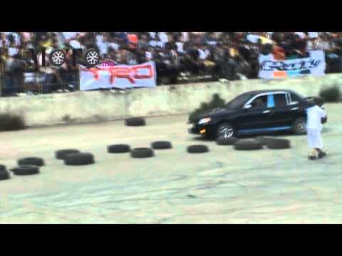 Hyundai Accent Verna Drift - Drift King Show 2011