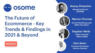 The Future of Ecommerce - Key Trends & Findings in 2021 & Beyond