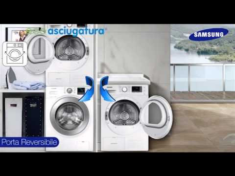 Nuova gamma di asciugatrici Samsung - YouTube