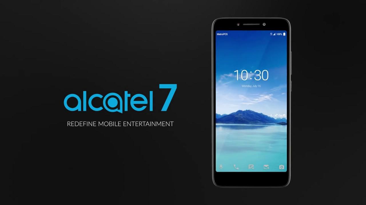 Alcatel 7 - Redefine Mobile Entertainment