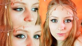 ♥ Gold & Bronze Makeup Tutorial от MakeUpKaty ♥