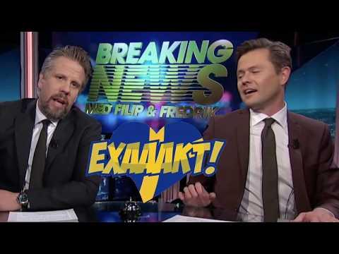 Filip och Fredrik gör reklam för Alternativ för Sverige