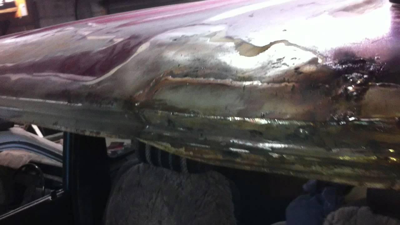 Landcruiser rust repair