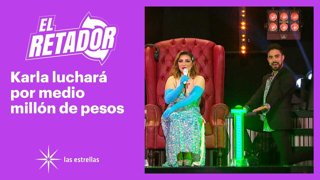 ¡Karla, nerviosísima pero no se raja! | #ElRetador